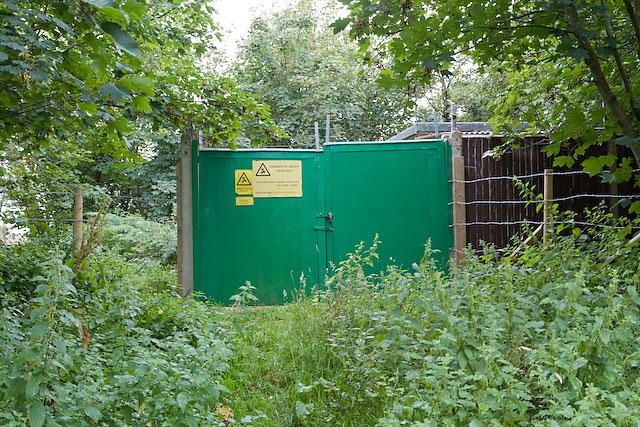Gipsy Lane electricity substation, Lepe