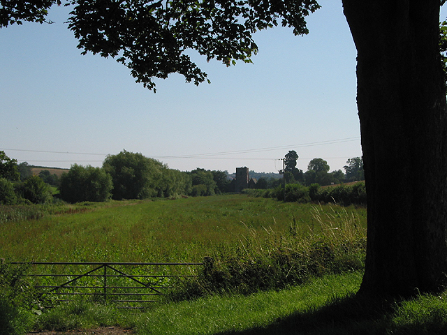 View to Bridstow Church from Poolmill