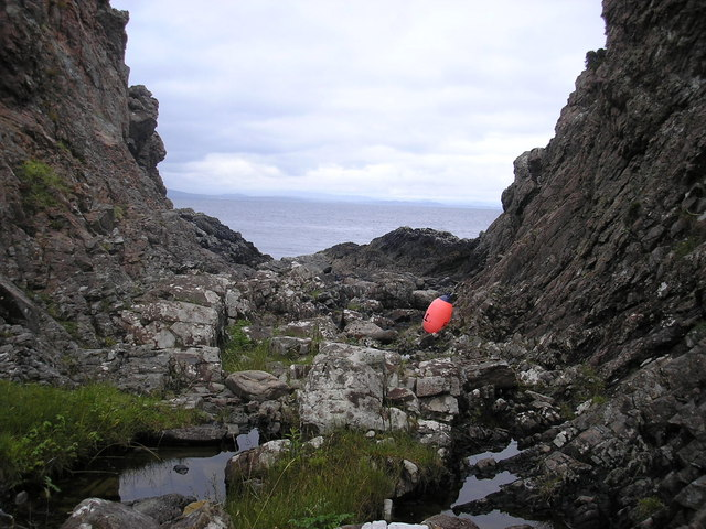 Small Rocky Gorge, round from point