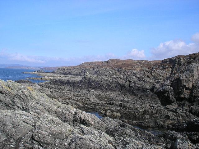 Coast around from Dalavil