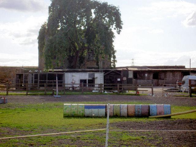 Ash Tree farm riding centre.