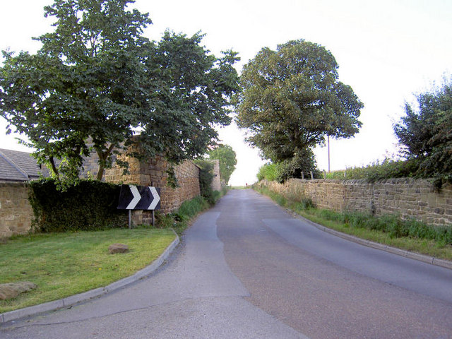 Edderthorpe Lane near Crook House.