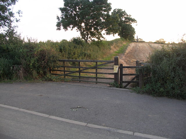 Entrance to Battle Field site.