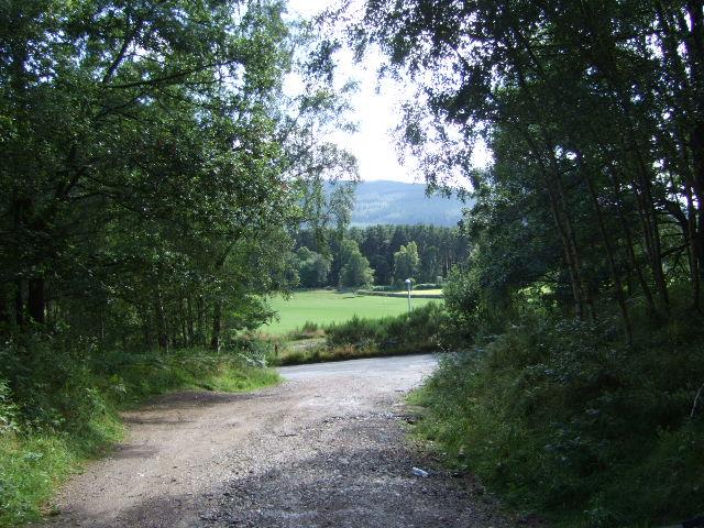 View of Inchmarlo golf range