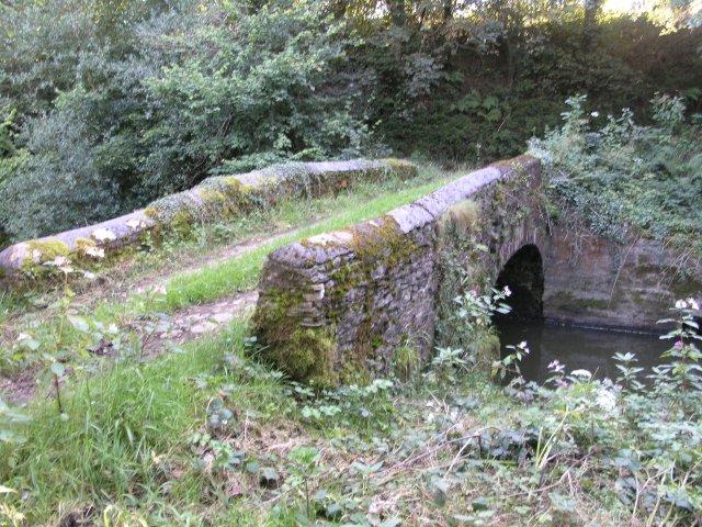 Small bridge over the Gwili river