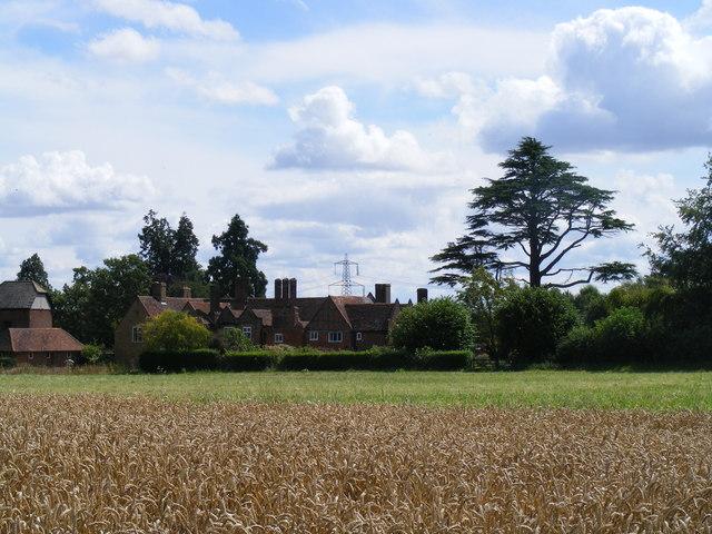 Little Offley farmhouse