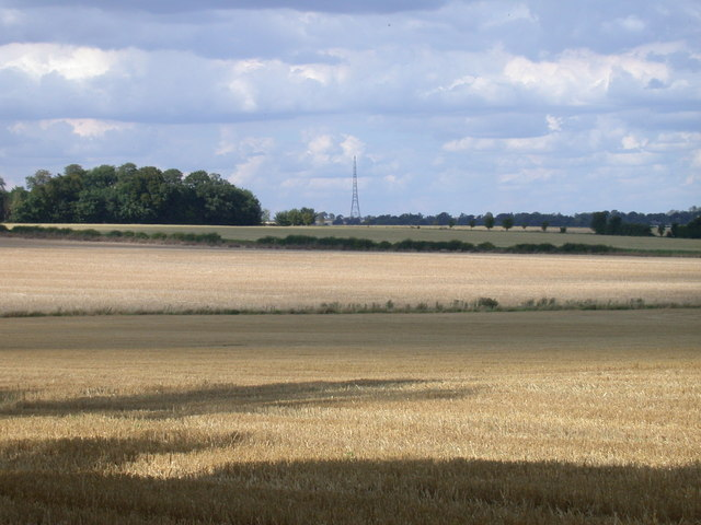 Stubble Fields at Wyddial Hall