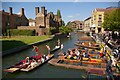 TL4458 : Punting on the river Cam by Fractal Angel