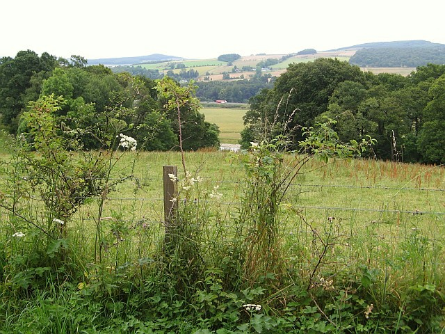 River Tummel valley near Pitlochry