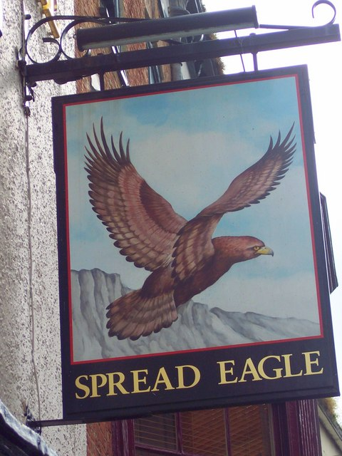 Sign for the Spread Eagle