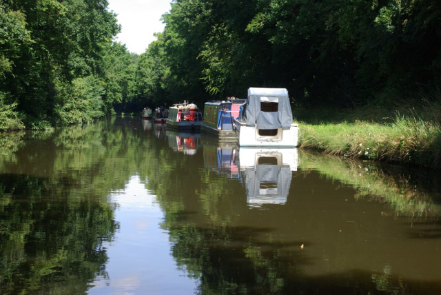 Shropshire Union Canal, near Stretton