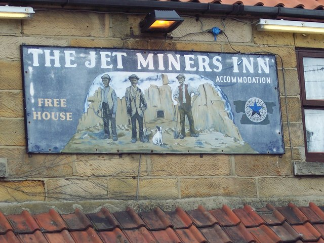 Sign for the Jet Miners Inn