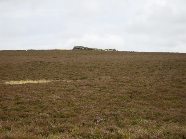 Moorland view to Tom Tallon's Crag