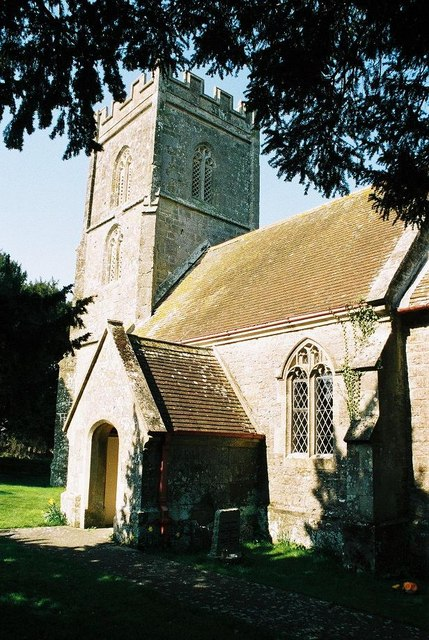Margaret Marsh parish church: tower and porch