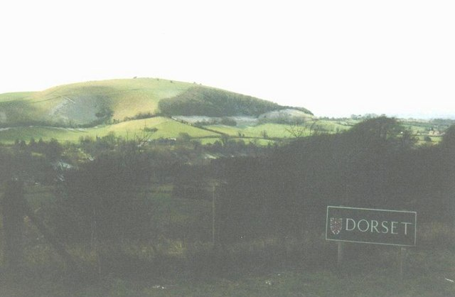 Melbury Hill – viewed from the border