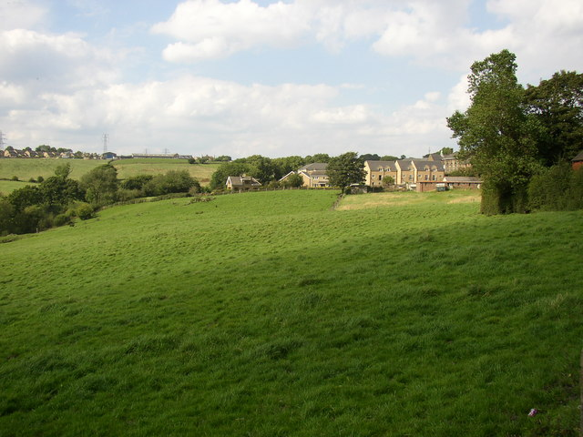 View towards the site of Birkenshaw Foundry
