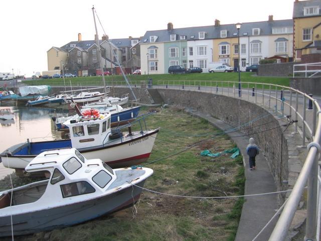 Aberystwyth Small Boat Mooring Basin