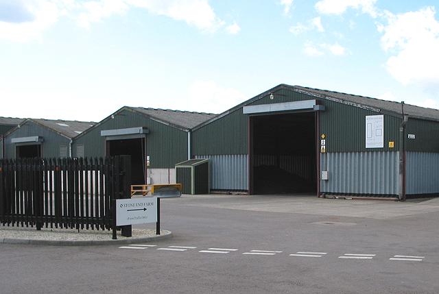 Entrance to Stone End Farm