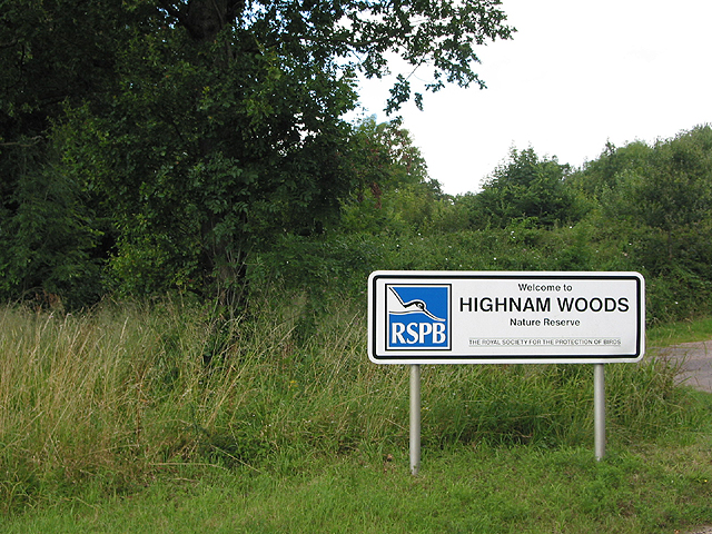 Entrance to Highnam Woods Nature Reserve