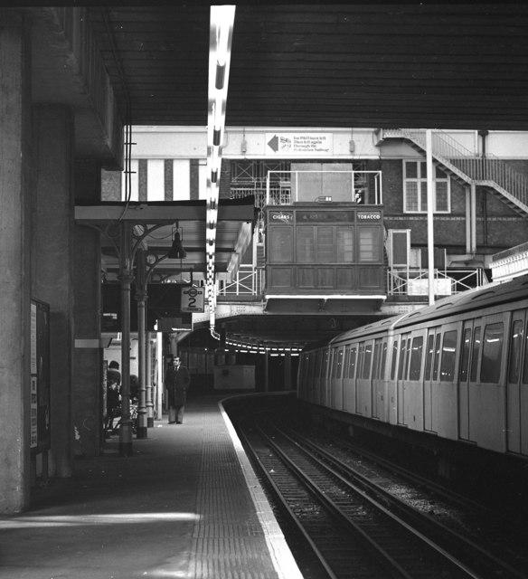Aldgate underground station