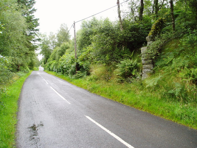 B729 road near Knockgray.