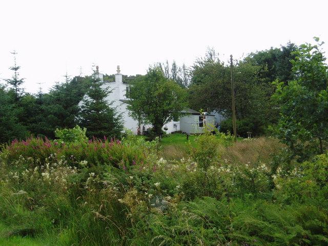 Bardennoch Farmhouse.