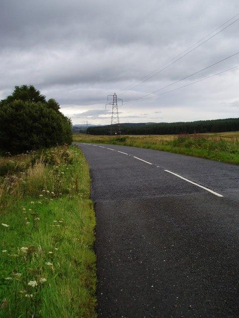 A713 Road.