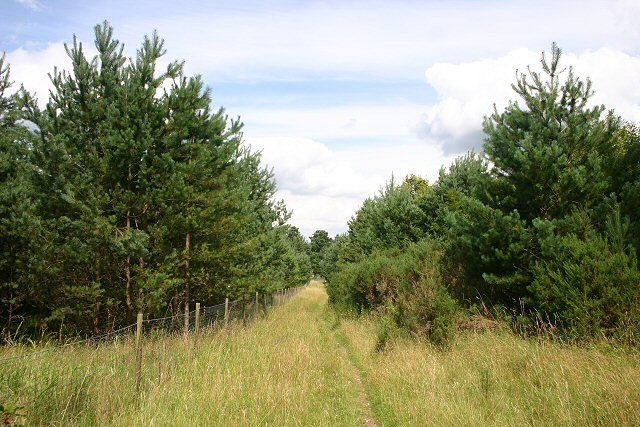 Path to Thetford Golf Club