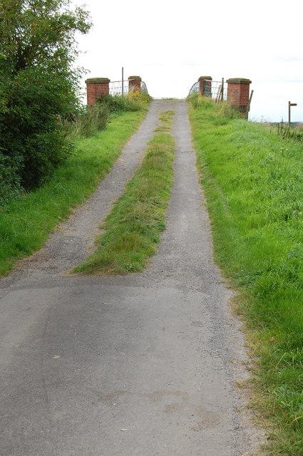 The Approach to Cadney Bridge