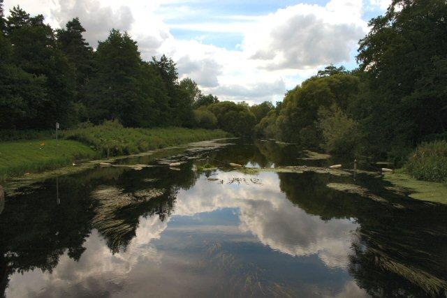 River Little Ouse at Abbey Heath Weir