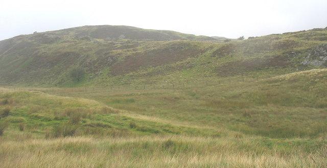 Moorland valley