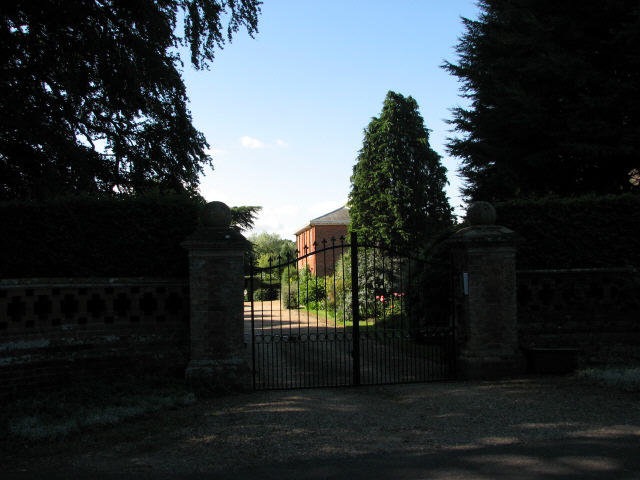 Entrance to Hall Farm