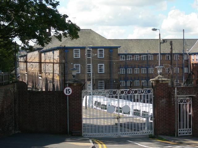 Kitchener Barracks, Rear Entrance
