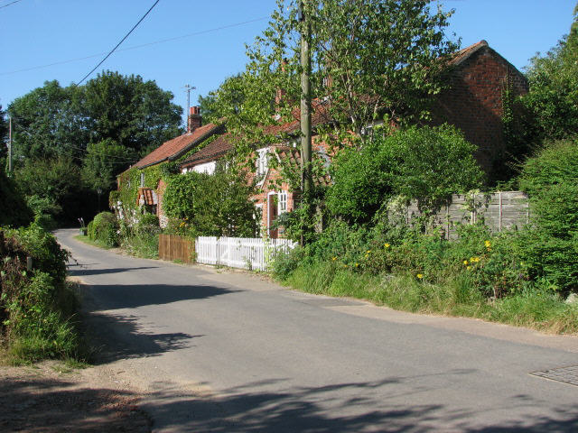Cottages on Aylsham Road