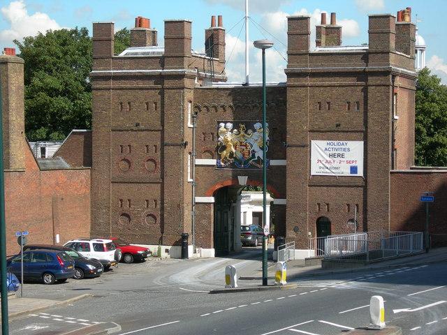 Dockyard Main Gate, Dock Road, Brompton
