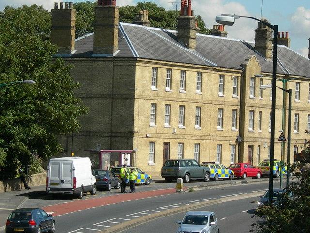 Police Stop, Dock Road (2)