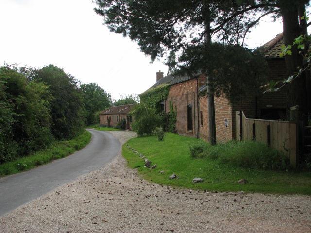 School Road past Quaker Farm