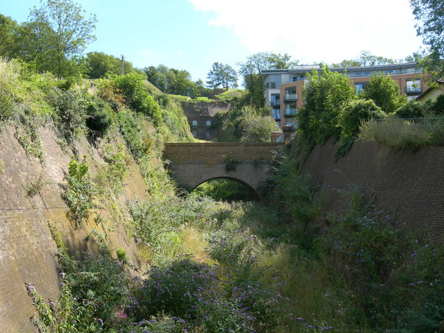 Ditch, Fort Amherst, Chatham