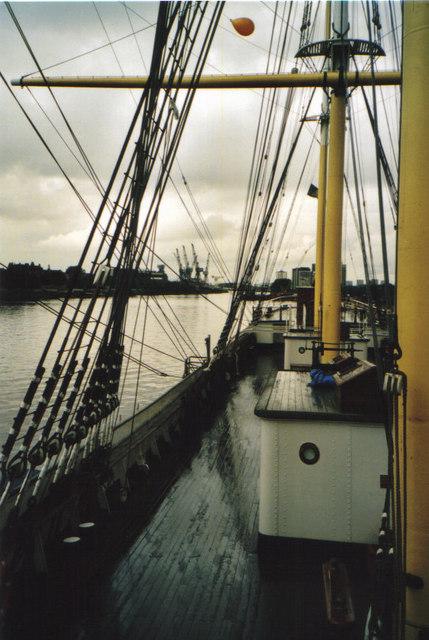 Aboard the Tall Ship