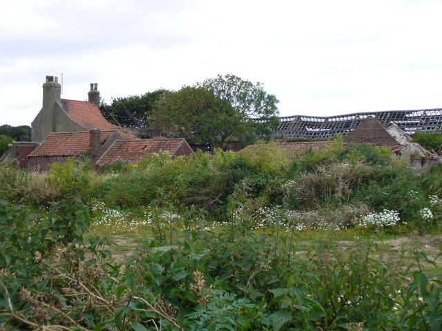 The ruin of Dane's Dyke Farm