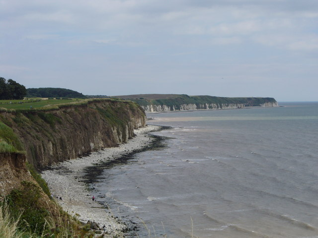 The cliffs at Sewerby