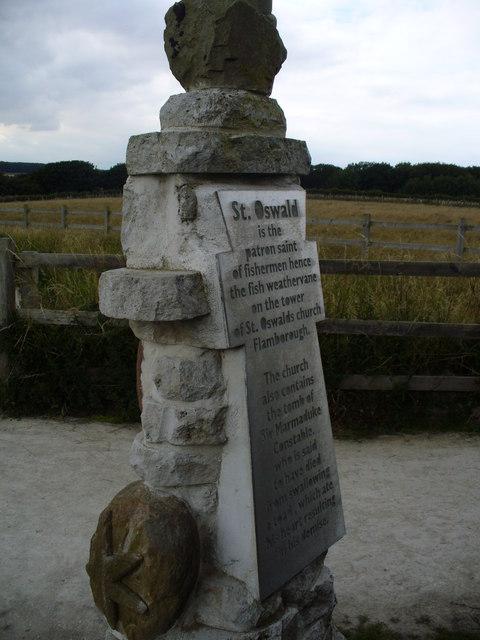 Saint Oswald Memorial Stone