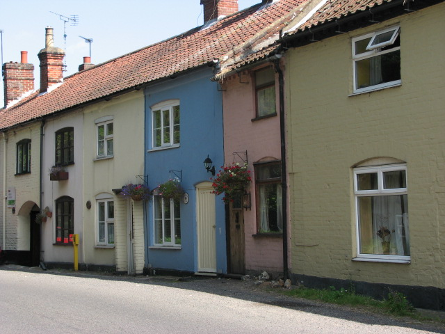 Cottages in Lion Road