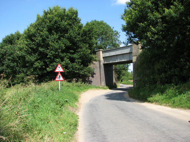 Bridge, Bure Valley Railway and Walk