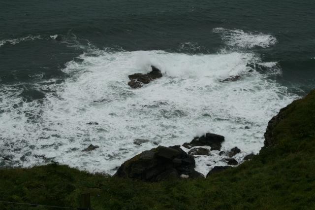 Rocks in the Sea West of Bally Groggan.