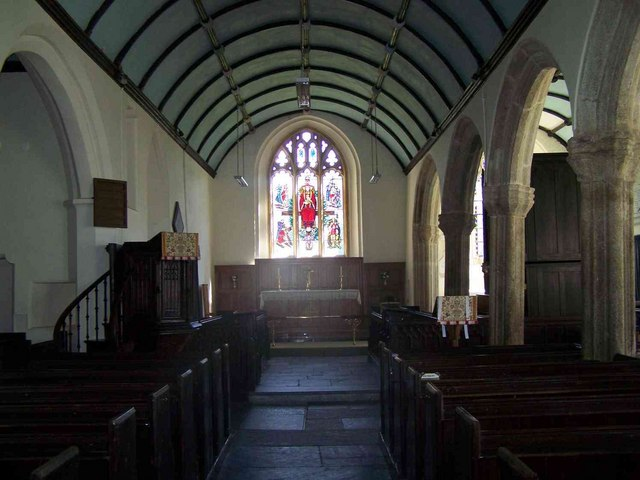 Interior, Churchstow Church