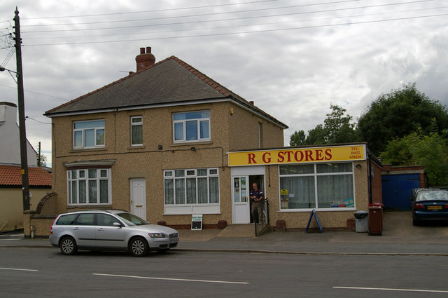 R G Stores, Scawby