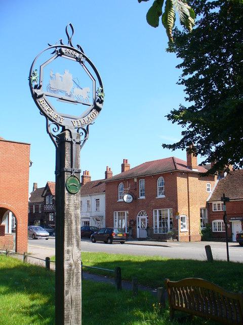 Ripley Village Sign