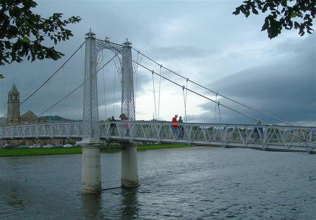 Ness River Foot Bridge