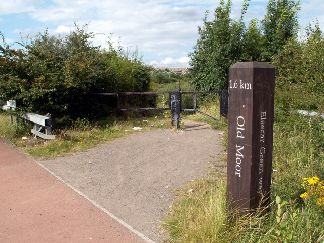 Trans Pennine Trail to Old Moor